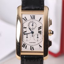 Cartier Tank Américaine Chronoflex 1730 Gold