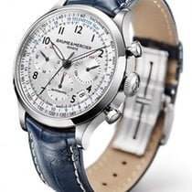 Baume & Mercier 10063 Capeland Chronograph in Steel - on...