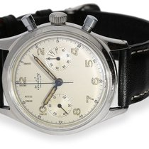 Breitling Wristwatch: rare, large stainless steel chronograph,...