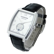 Chopard 162294-1001 L.U.C. XP Tonneau - White Gold on Strap -...