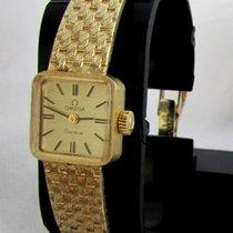 Omega Geneve, rare vintage golden with original golden bracelet