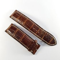 Chopard 22mm / 22mm brown alligator leather strap like new