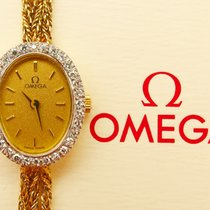 Omega Yellow Gold 14C 585 Diamonds Jewellery Exclusiv Ledies...