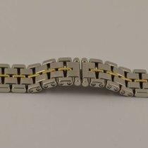 Gp Vintage Girard Perregaux Stahl/gold Armband Bracelet...