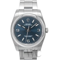 Rolex Oyster Perpetual Blue/Steel Ø36 mm - 116000