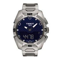 Tissot Men's T0914204404100 T-Touch Expert Solar Blue Dial