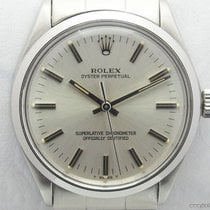 Rolex Vintage Oyster Perpetual 1002 quadrante argento full set