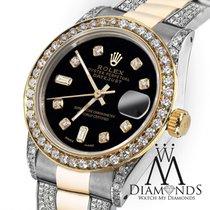 Rolex Ladies 26mm Rolex Oyster Perpetual Datejust Custom...