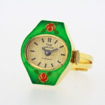 F. H B. Watch Vintage Ring Watch NOS manual-wind Rendex 5101...