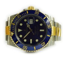 Rolex Submariner Date  Steel and Yellow Gold blue dial