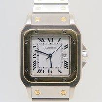 Cartier Santos Galbee 18k Gold Steel 29mm Automatic