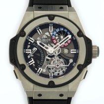 Hublot King Power Tourbillon Zirconium Watch Ref. 706.ZX.1170.RX