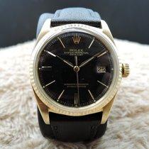 Rolex DATEJUST 1601 18K YG with Original Glossy Gilt Dial
