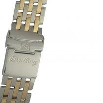 Breitling Zubehör - Armband Navitimer Stahl/Gelbgold