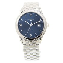Longines Flagship Stainless Steel Blue Automatic L4.874.4.96.6