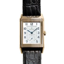 Jaeger-LeCoultre Reverso 18k Rose Gold Silvery White Manual...