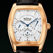 Paul Picot MAJESTIC POWER RESERVE Rose Gold-Silver Guilloché Dial