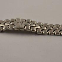 Ebel Sportwave Herren Uhr Stahl Armband Bracelet 19mm Stahl/stahl