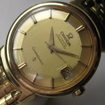 Omega Constellation Deluxe Pie Pan Dial Ref. 14398 18k Gold