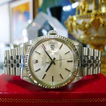 Rolex Oyster Perpetual Datejust Stainless Steel Gold Watch C....
