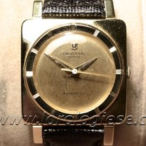 Universal Genève Cioccolatone Grand Tank Carre 18 Kt. Gold...