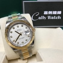 Rolex Cally - Discontinued 116333 Datejust II Ivory Diamond 41mm