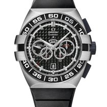 Omega Double Eagle Co-Axial Chronograph