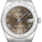 Rolex Datejust 31 Ref. 178344 Zifferblatt Bronze Römisch Diamant