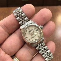 Ρολεξ (Rolex) Datejust Ladies 18KW Bezel/Stainless Steel Watch...