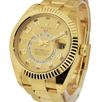 Rolex Used 326938used Skydweller in Yellow Gold - on Bracelet...