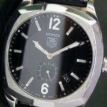 TAG Heuer Monza WR2110 Automatic Quick Date Side Second Steel...