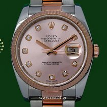 Ρολεξ (Rolex) Datejust 116231 Pink Dial 18k Rose Gold 2014 ...
