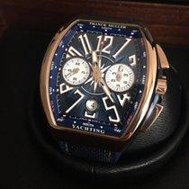 Franck Muller Vanguard Yachting Chronograph Rose Gold