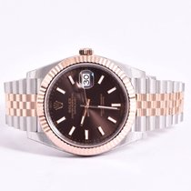Rolex Date Just II Chocolate 126331