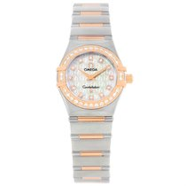 Omega Constellation My Choice Mini Diamond Watch 1360.75.00...