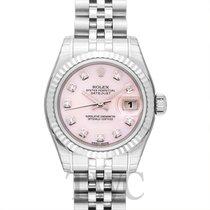 Rolex Lady Datejust Pink MOP Steel Dia 26mm - 179174