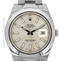 Rolex stainless steel Datejust II