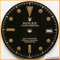 Rolex Dial GMT Ref 6542 Depth Gilt & Super Glossy Stock #52DG