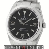Rolex Explorer I Stainless Steel Black Dial 39mm