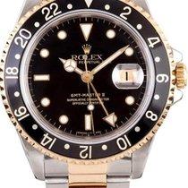 Rolex GMT Master II  16713 Gold & Steel