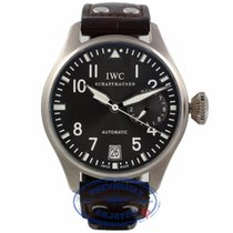 IWC Big Pilot 7 Day Power Reserve 18K White Gold Slate Dial
