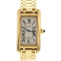 Cartier Tank Americaine 18k Yellow Gold Automatic 1725