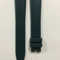Chopard Dark Green Rubber Strap 19 x 16 mm