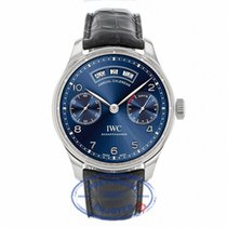 IWC Portugieser Annual Calendar Blue Dial Watch