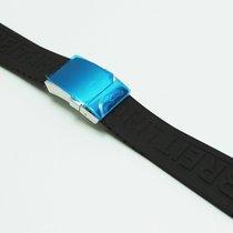 Breitling Kautschukband 24/20 mm schwarz mit Faltschließe