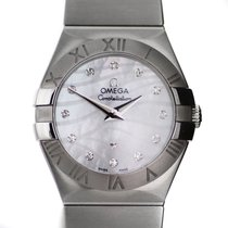 Omega Constellation Mother of Pearl Diamond Dial Ladies