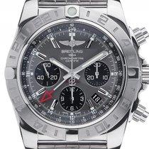 Breitling Chronomat 44 GMT Stahl Automatik Armband Stahl...