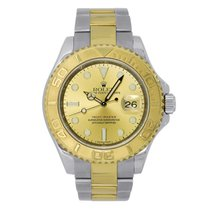 Rolex Yacht-Master 40 Steel & Yellow Gold Champagne Dial