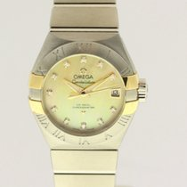 Omega Constellation - NEW - with B + P Listprice € 6.100,-