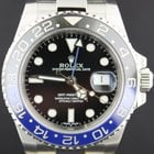 Rolex GMT-Master II 'Batman' BLNR, mint from 2015